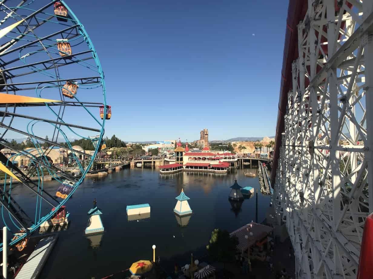 Pixar Pier view