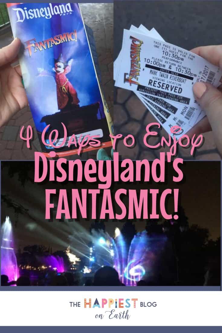 Disneyland Fantasmic, Fantasmic map, Fantasmic FASTPASS