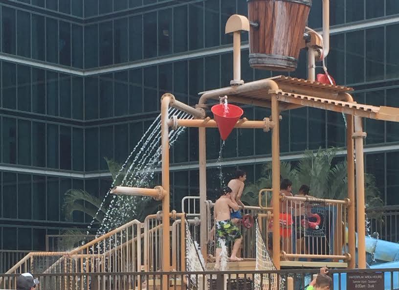 Hilton Anaheim pool water park