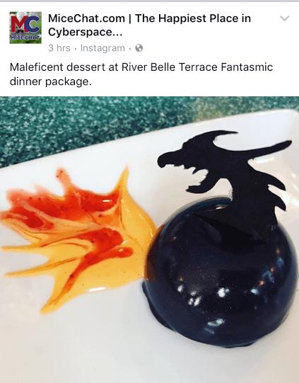 Fantasmic! Dessert