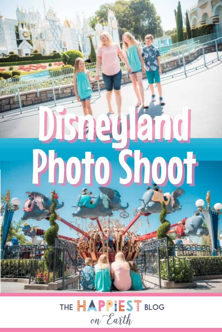 Disneyland photo shoot. © A&C Photography