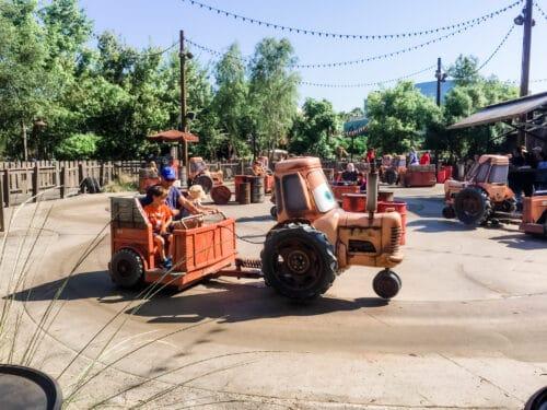 Maters Junkyard Ride