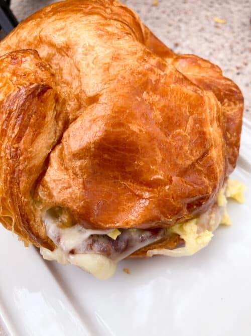 La Brea breakfast sandwich disney