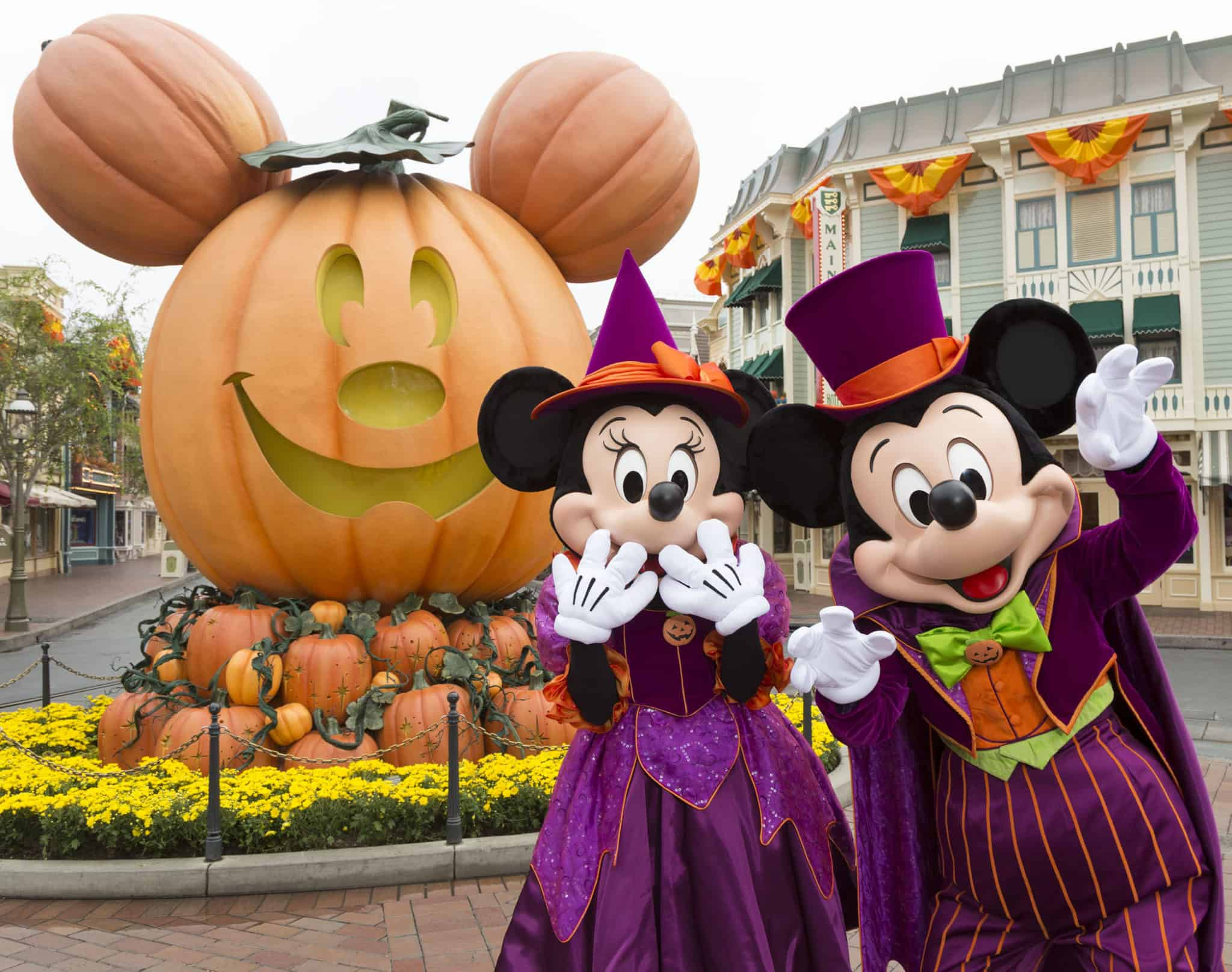 Mickey and Minnie Mouse Halloween