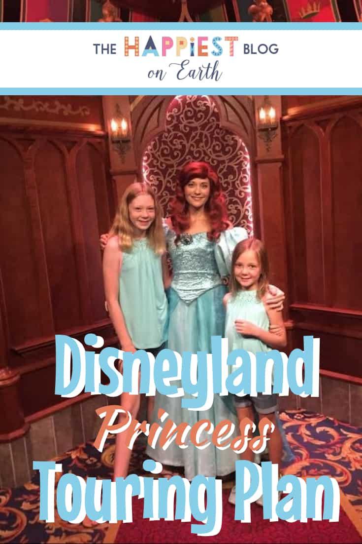 Disneyland Princess Touring Plan