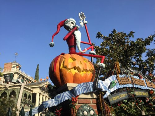 Jack Skellington Haunted Mansion Holiday
