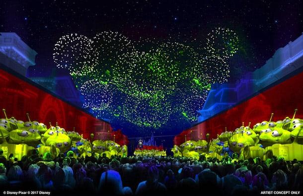 Together Forever fireworks Disneyland