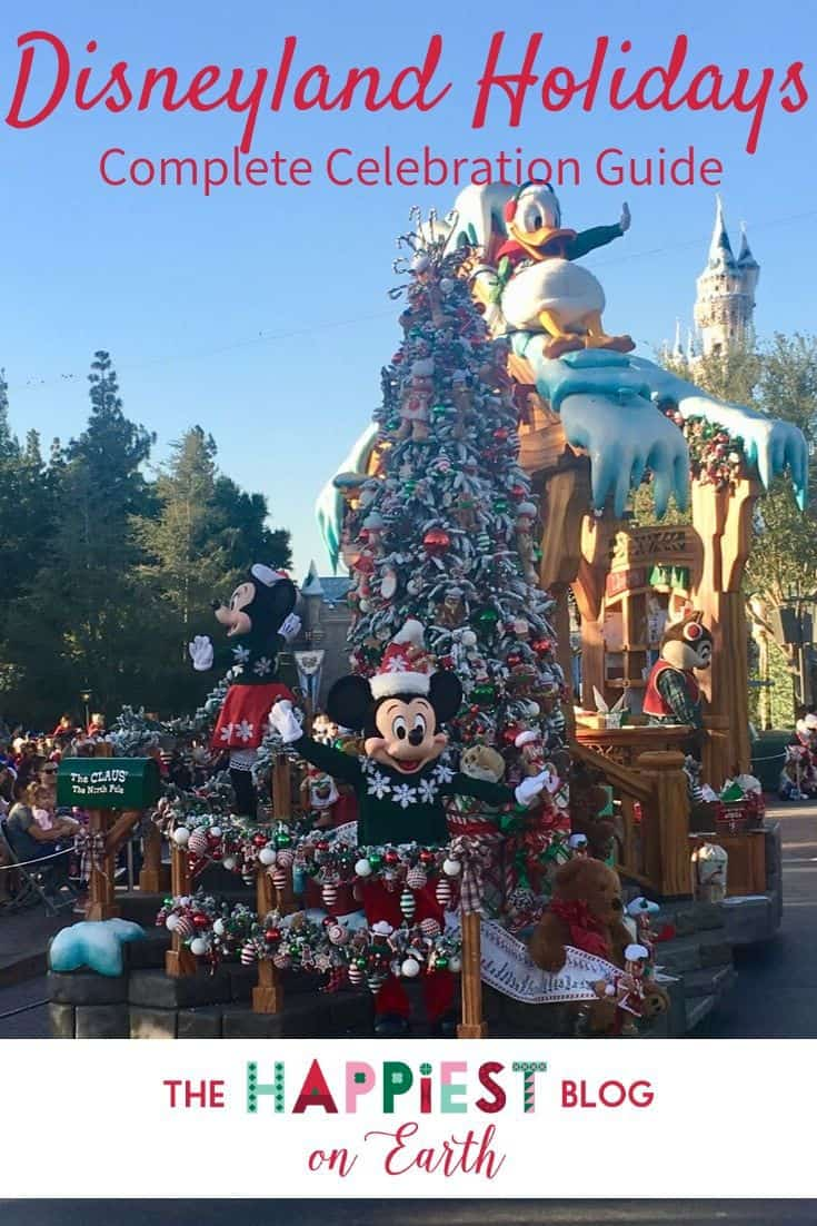 When Does Disneyland Decorate For Christmas.Holidays At Disneyland Resort 2019 The Happiest Blog On Earth