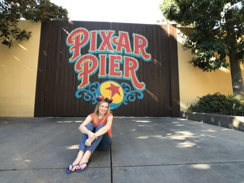 Jessica Pixar Pier sign