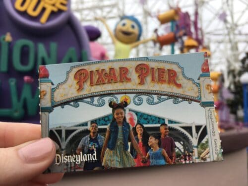 Joy Pixar Pier Ticket
