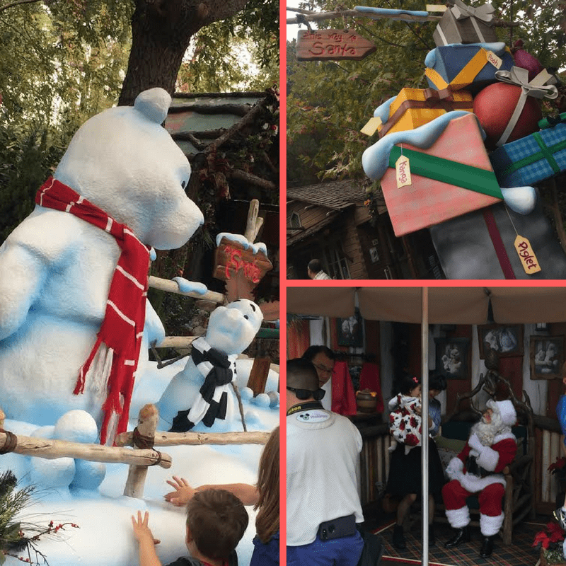 Meet Santa Claus at Disneyland in Critter Country.