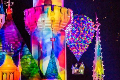 Together Forever - A Pixar Nighttime Spectacular, courtesy Disneyland Resort