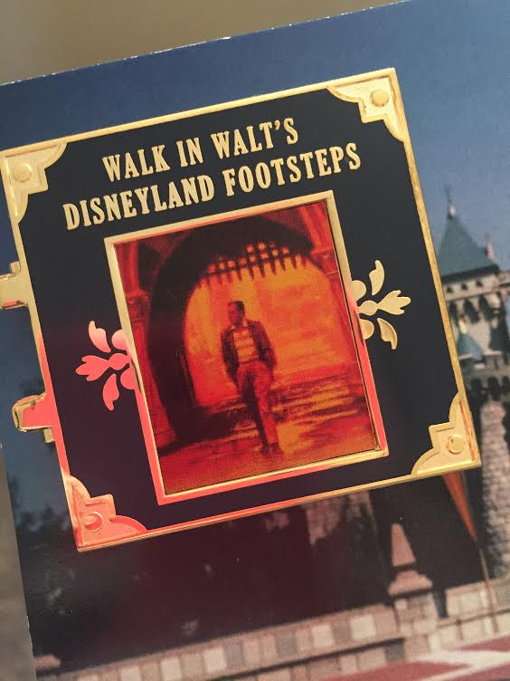Walk in Walt's Footsteps Pin
