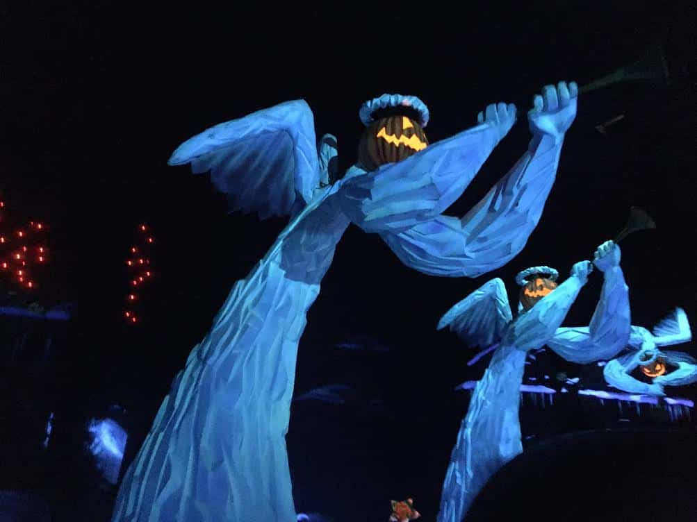 Haunted Mansion Holiday angels