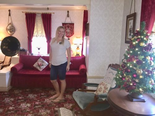 Walt's apartment at Disneyland