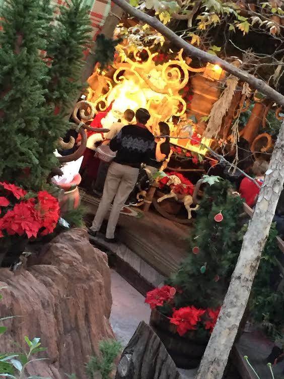 Santa Claus at California Adventure