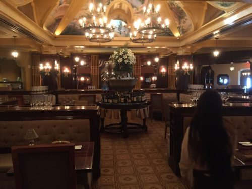 Carthay Circle main dining area