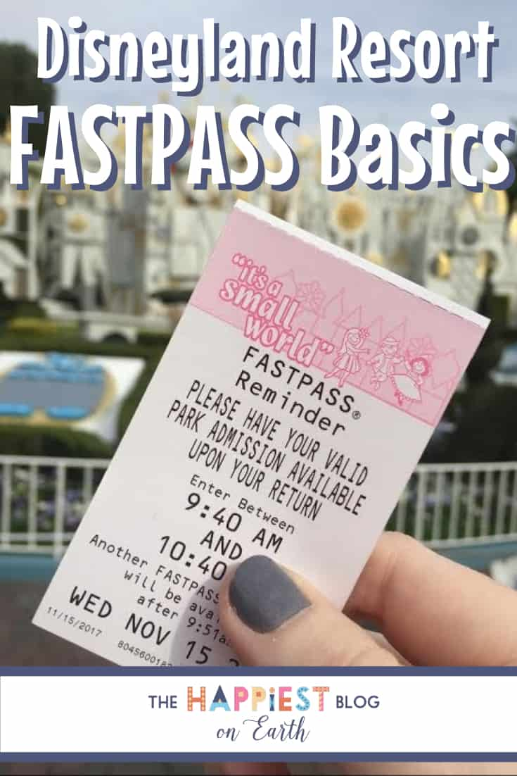 Disneyland FASTPASS tips for beginners. More rides, less wait! #Disneyland #DisneylandTIps