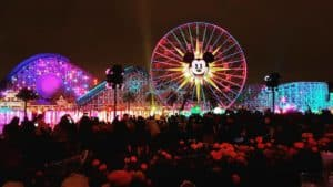 World of Color dessert party view