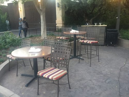 Sonoma Terrace Paint the Night seating