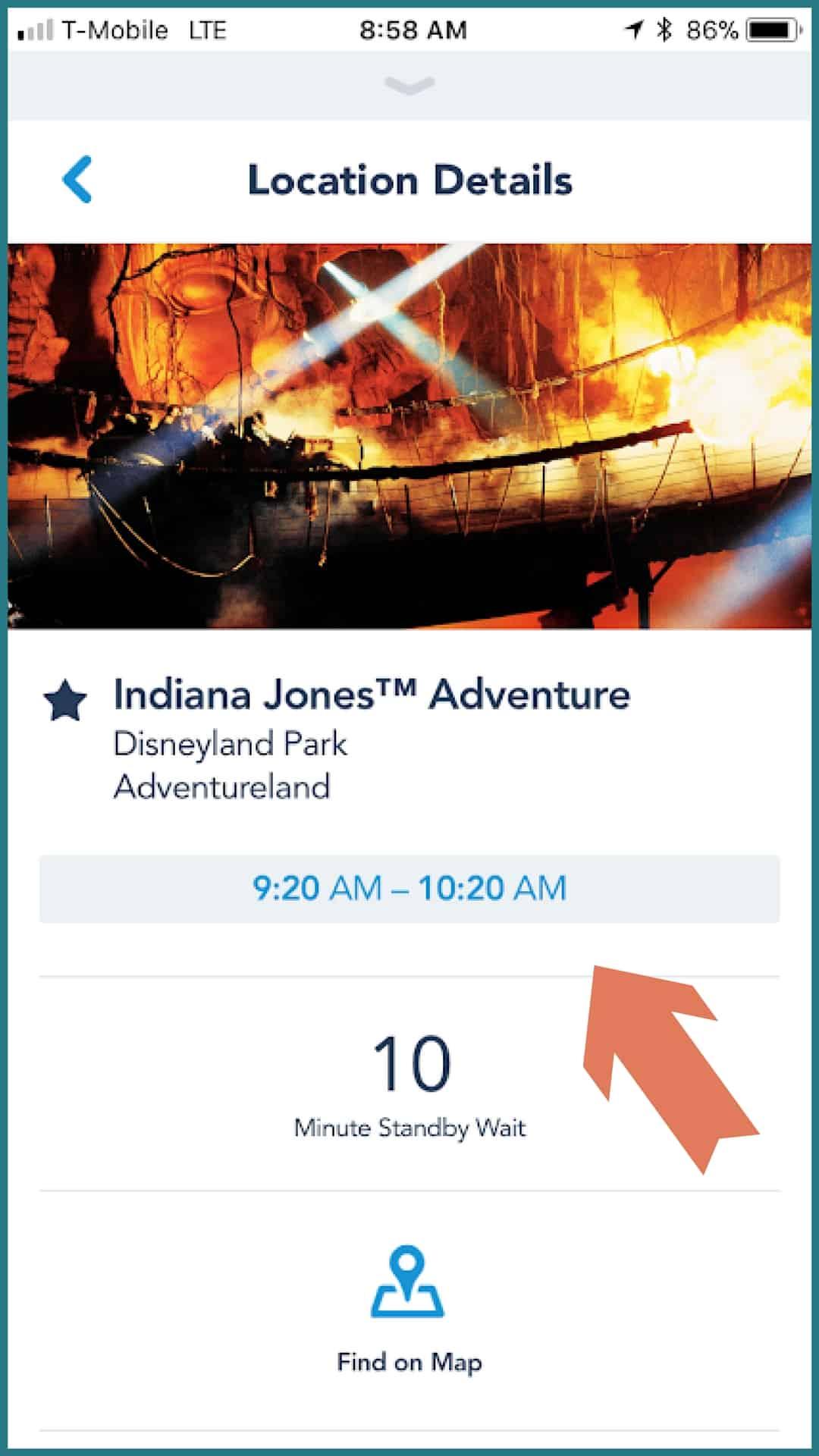 Disney MaxPass Indiana Jones Adventure