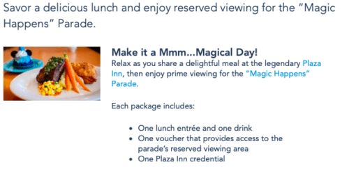 Plaza Inn Magic Happens