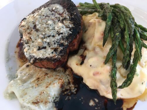 Jazz Kitchen Black and Blue steak
