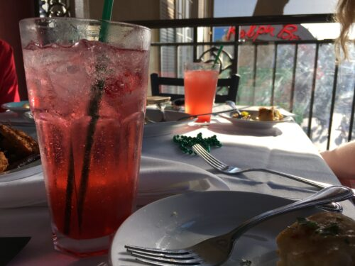 Jazz Kitchen shirley temple