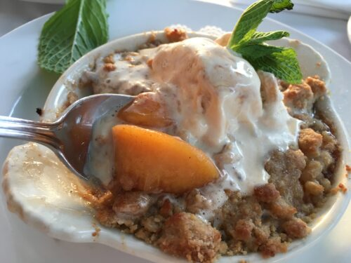 Peach Cobbler Jazz Kitchen