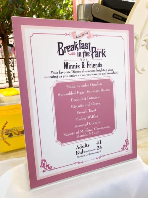 Plaza Inn Breakfast price 2021