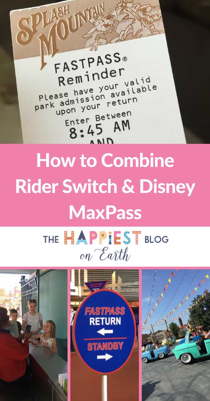 combine Rider Switch and Disney MaxPass
