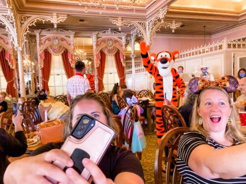 Selfie Disney Characters