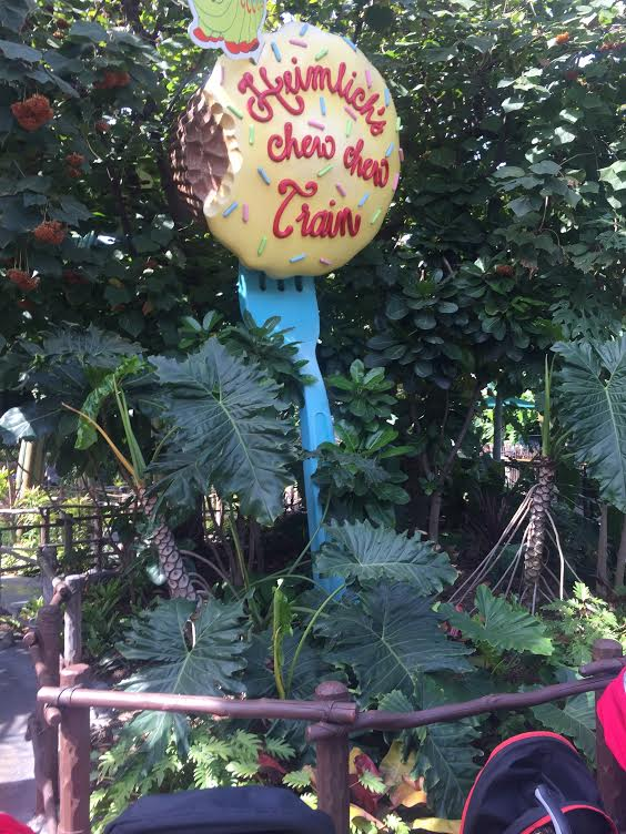 Heimlich's Chew Chew Train gone forever
