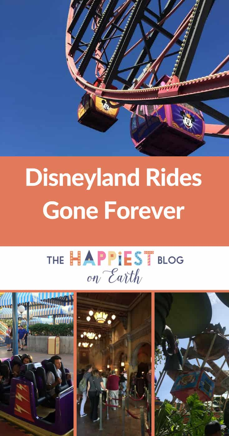 Disneyland Rides are Gone Forever