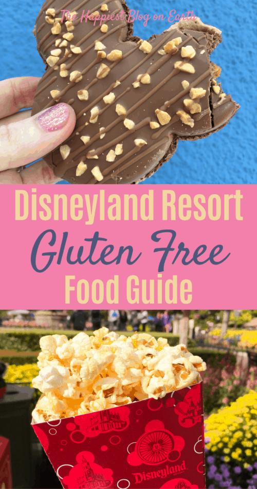 Gluten free Disneyland food