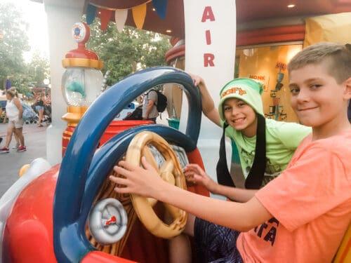 Disneyland Car Toontown