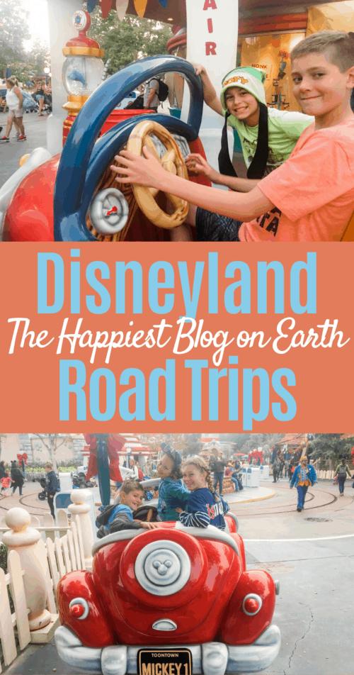 Disneyland Road Trip