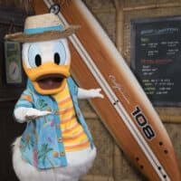 Donald Duck's Seaside Breakfast at Disneyland