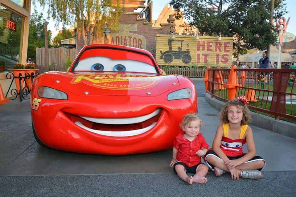 Cars Land PhotoPass spot