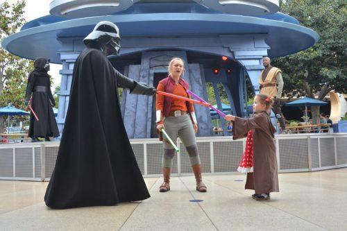 Disneyland PhotoPass Spots Jedi Training