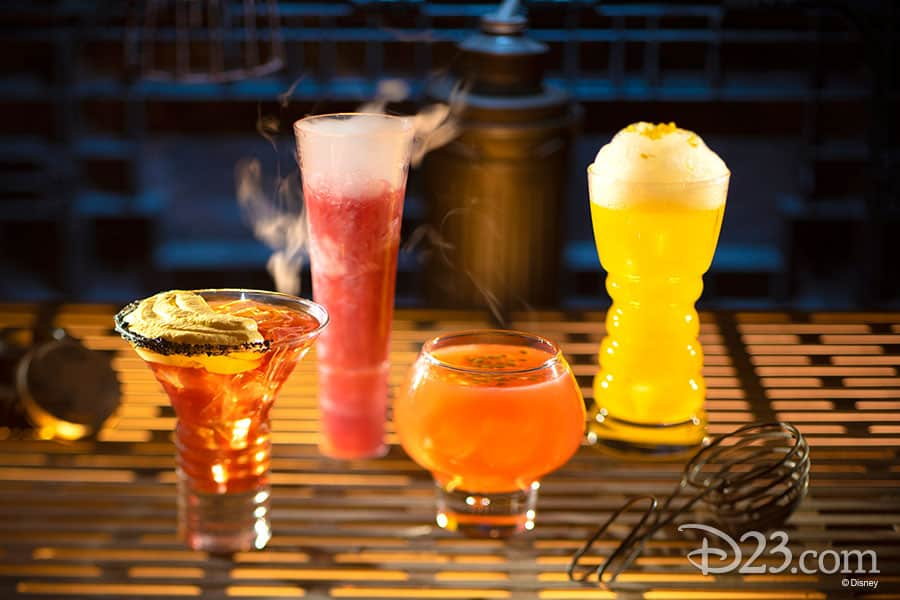 Oga's Cantina alcoholic drinks