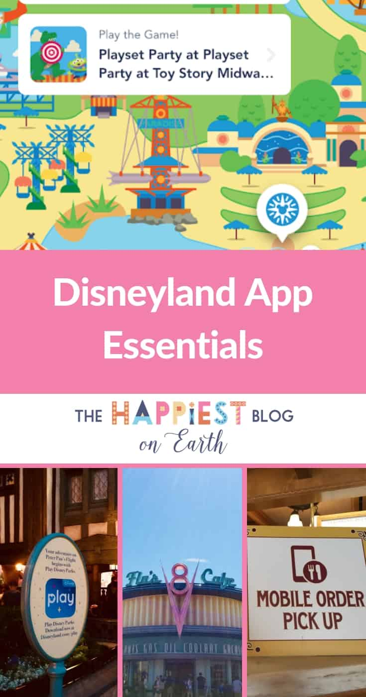 Disneyland app Disney Play