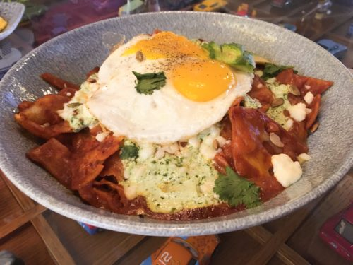 Lamplight Chilaquiles