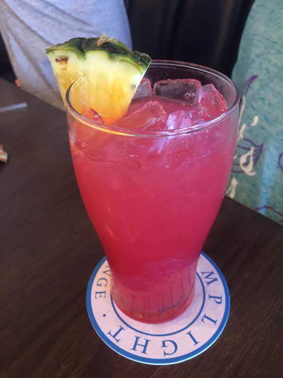 Lamplight Lounge drink