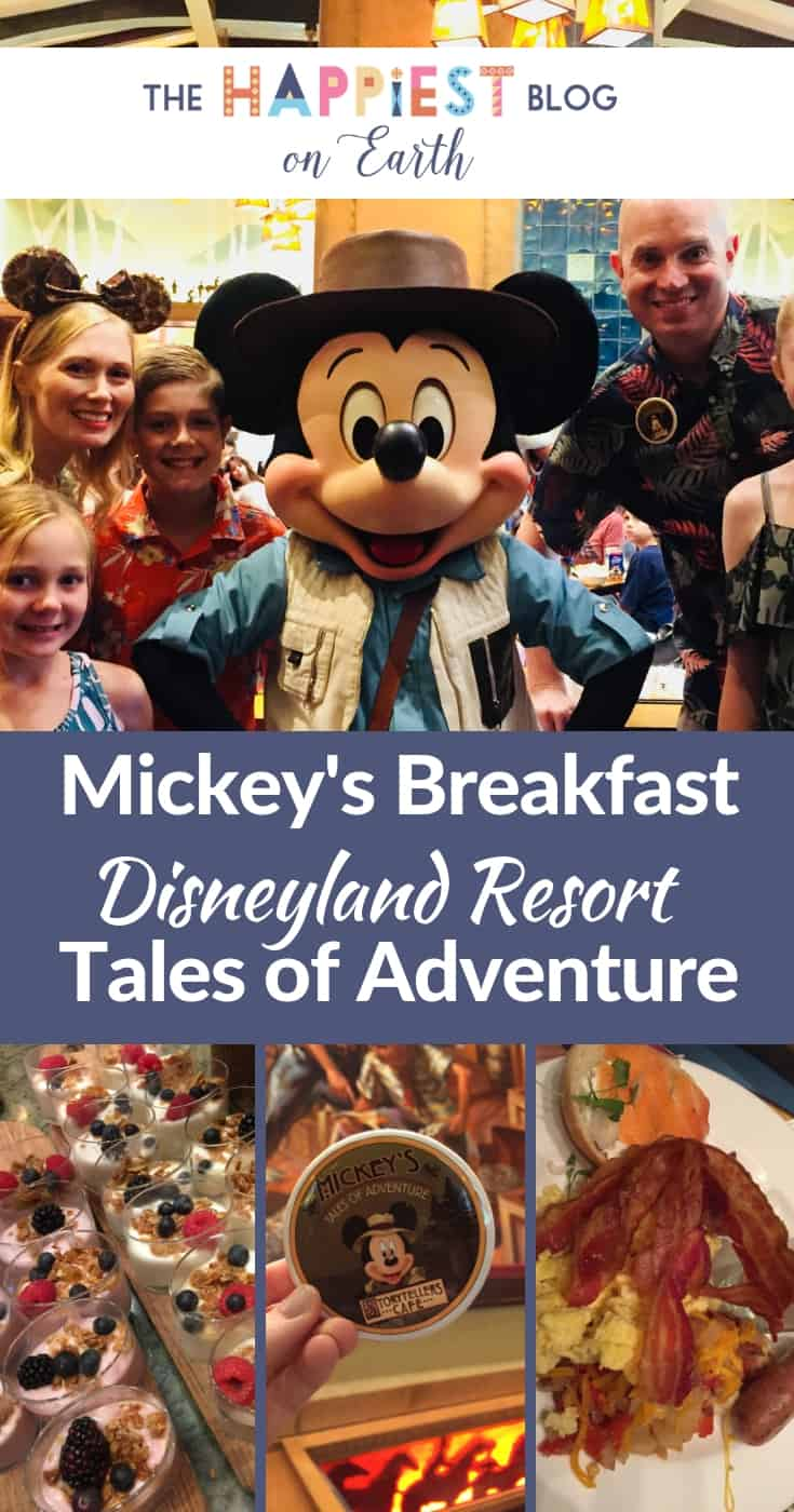 Mickeys breakfast Tales of Adventure