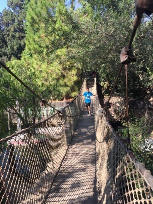 Pirates Lair bridge