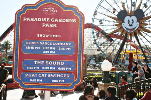 Festival of Holidays live music schedule