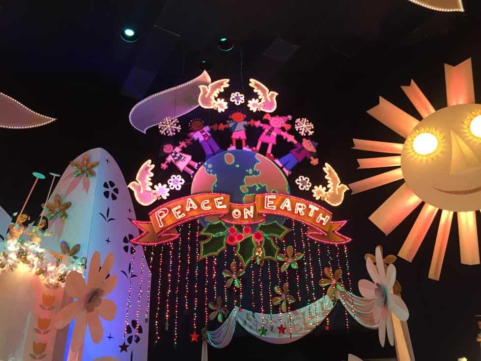it's a small world holiday peace on earth