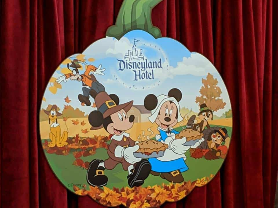 Thanksgiving Disneyland Hotel