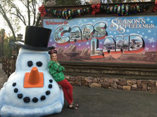 Cars Land Snow Car